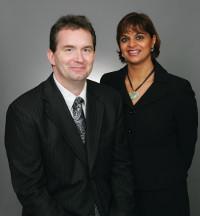 Rekha and Michael Sharma-Crawford
